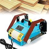 Jasemy Electric Belt Sander Sanding Machine Double Axis Bench Grinder Doble eje Lijadora de banda 950 W 220 V 6000 rpm