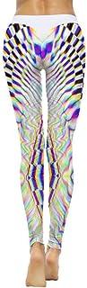 WSPLYSPJY Women's Sexy Hight Waist Leggings Yoga Pants Digital Printed Sport Pants