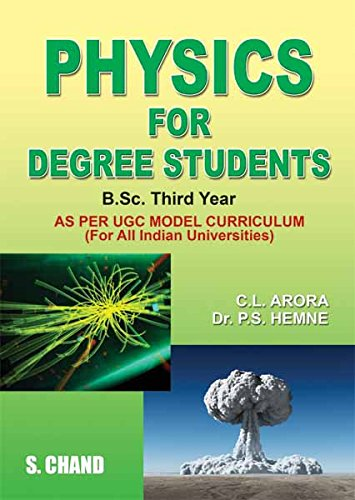 Physics for Degree Students for B.Sc. 3rd Year (English Edition)