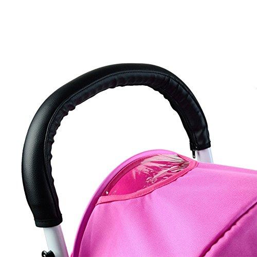 Reze Baby kinderwagen Grip PU leder antislip handvat Protector Bar Cover Mat