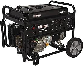 Ironton Portable Generator with Wheel Kit -7000 Surge Watts, 5500 Rated Watts
