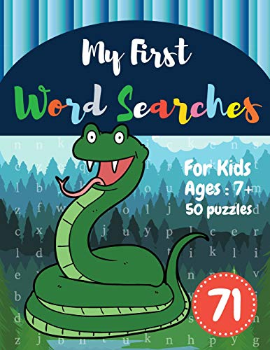 My First Word Searches: 50 Large Print Word Search Puzzles : Wordsearch kids activity workbooks | Ag
