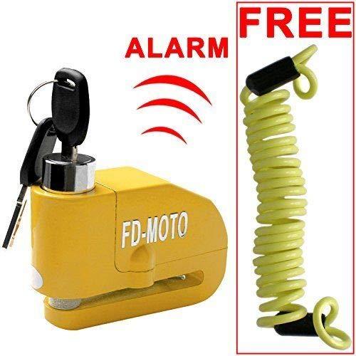 FD-MOTO - Dispositivos Antirrobo Candado de Disco con Alarma