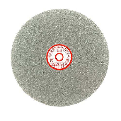 Sourcingmap – Disco de lija de 200 mm con revestimiento de diamante de grano 180