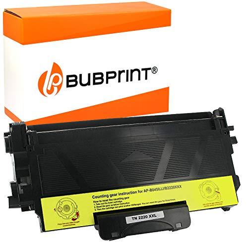 Bubprint Kompatibel XXL Toner als Ersatz für Brother TN-2220 TN-2010 für DCP-7055 DCP-7065DN Fax 2840 HL-2130 HL-2270DW MFC-7360N MFC-7460DN MFC-7860DW 10,400 Seiten Schwarz