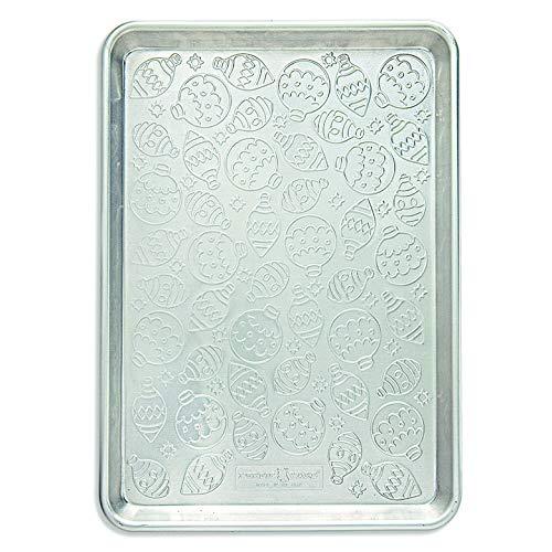 Nordic Ware Embossed Naturals Ornament Pattern Half Sheet
