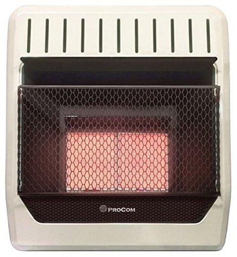 PROCOM HEATING ML1HPG 10,000 BTU Liquid Propane Gas Infrared Wall Heater