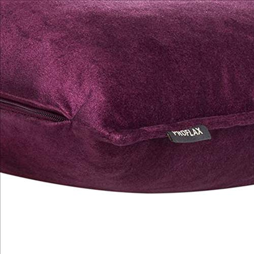 Proflax Flair Kissenbezug Lupine 60x60, Zierkissen 60x60