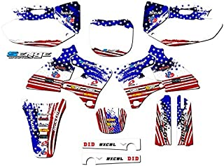 Compatible with Yamaha 1998-2002 YZ 250F/400F/426F (4-Stroke), Merica Complete Graphics Kit
