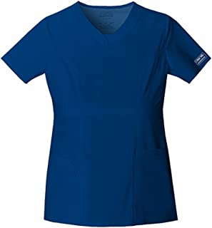 Cherokee Women's Ww Core Stretch Jr. Fit V-Neck Top