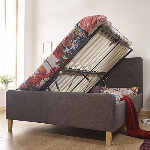 Hf4you GFW Ashbourne Ottoman Bed Frame-5ft-No Mattress