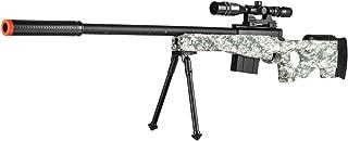 300 FPS - L96 Airsoft Gun Sniper Spring Powered Rifle Gun with Scope (Digital Camo)