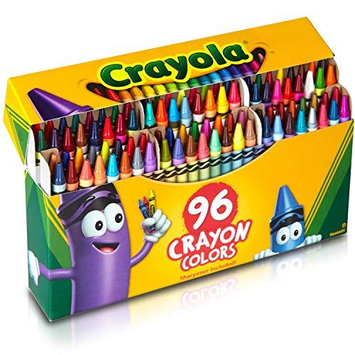 96/Pkg Crayola Crayons 52-0096