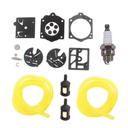 AISEN Carburetor Repair Rebuild KIT Fuel LINE Filter for STIHL Chain Saw 015 015AV 15AVE 015L HDC17 Carburetor K10-HDC