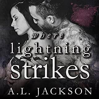 Where Lightning Strikes     Bleeding Stars, Book 3              By:                                                                                                                                 A .L. Jackson                               Narrated by:                                                                                                                                 Andi Arndt,                                                                                        Sebastian York                      Length: 12 hrs and 36 mins     1,559 ratings     Overall 4.7
