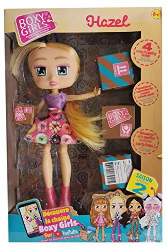 BOXY GIRLS Hazel Las muñecas Fashionista Que Van a Hablar de Ellas – Vista en la televisión.