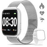 WWDOLL Smartwatch, Orologio Fitness Tracker Impermeabile da 1,4 pollici Cardiofrequenzimetro da...