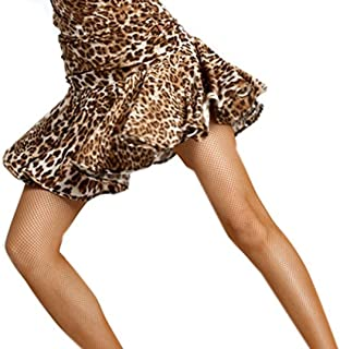 Saoye Fashion Robe De Danse Latine Femme Manches en Dentelle Jupe De V/êtements de Fiesta Danse pour Tango Rumba Cocktail Party Dancewear