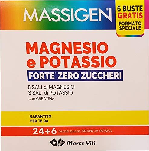 Massigen Magnesio Potassio Forte Senza Zucchero 30 bustine