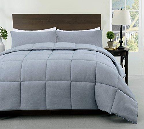 Cozy beddingssuper 2pcs abajo edredón alternativo, |size: 2| color: Aqua Verde | manualidades: funda patrón (1colcha, 1fundas de almohada incluido)