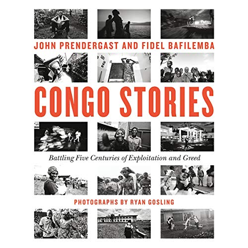 Congo Stories audiobook cover art