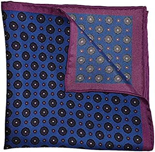 The Purple League Silk Pocket Square