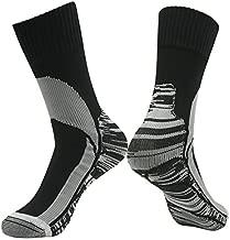 100% Waterproof Socks, RANDY SUN Men's Fashion Coolvent Windproof Business Socks Climbing Cycling Fishing Sports Socks Black Grey