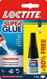 Super Glue Loctite Precision/Extra Strong Liquid Glue for Metal, Ceramics, Plastic, Rubber, Leather