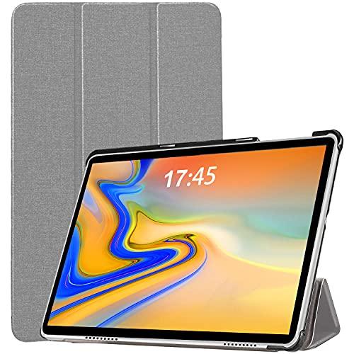 Tablet 10.1 Pulgadas DUODUOGO Android 10 5G WiFi 4G LTE Tableta Baratas y Buenas con 6GB RAM+64GB ROM (TF 512GB), FHD1920*1200, Octa-Core, Batería 6500mAh, Type-C, 5+8MP Cámara, Bluetooth, GPS - Plata