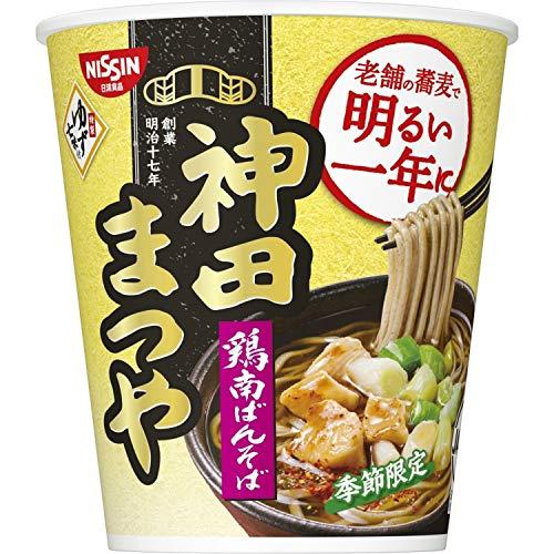 日清食品 神田まつや 鶏南ばんそば 92g ×12個