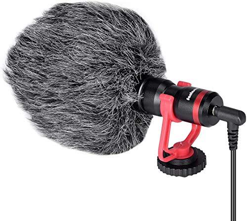 Professional Hi-sensity Hi-fidelity Mini Shotgun Video Condenser Microphone External Mic Compatible...