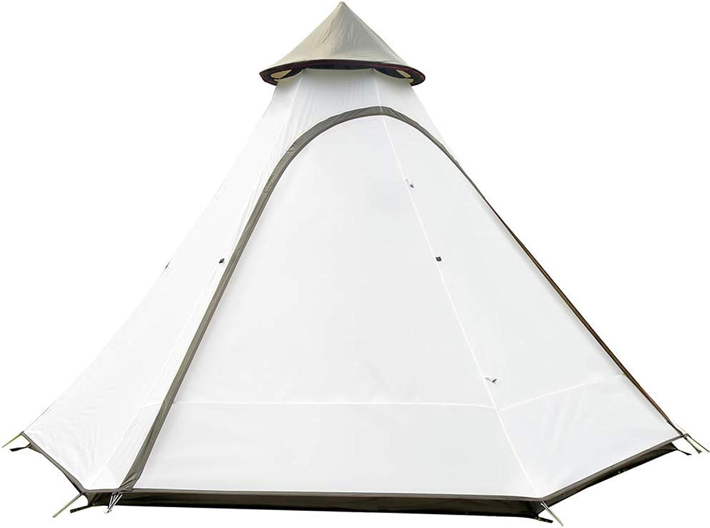 TCpick 3-4 Personen Campingzelt, UV-Schutzzelt Winddicht Wasserdicht Mückenschutz Amilienzelt Outdoor-Reisen Wandern Strand