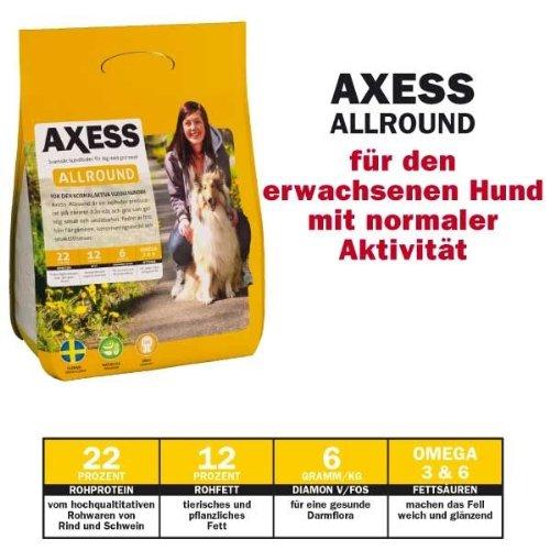14 kg Axess Allround Hundefutter aus Schweden