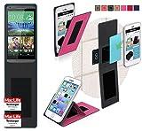 Hülle für HTC Desire 816G Tasche Cover Hülle Bumper   Pink   Testsieger
