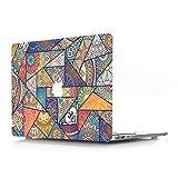 Bandless AJYX - Carcasa rígida de plástico solo compatible con la versión antigua MacBook Pro de 13 pulgadas (modelo: A1278, con CD-ROM) Release 2012/2011/2010/2009/2008, color creativo