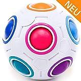 CUBIXS  Regenbogenball  Geschicklichkeitsspiel fr Kinder und Erwachsene  tolles Mitgebsel fr Kindergeburtstag Gastgeschenk Spielzeug  auch als Stressball oder Knobelspiel fr Erwachsene