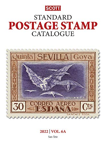 Compare Textbook Prices for Scott Standard Postage Stamp Catalogue 2022: Countries San-Z 6 178th ed. Edition ISBN 9780894876189 by Bigalke, Jay,Snee, Charles,Kloetzel, James E.,Houseman, Donna