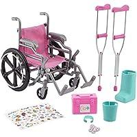 Journey Girls Wheelchair Playset for 18 Inch Dolls