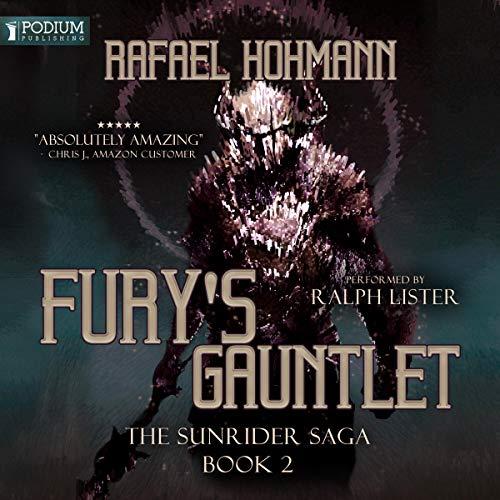Fury's Gauntlet audiobook cover art
