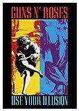 Guns N Roses Illusion Poster Mehrfarbig