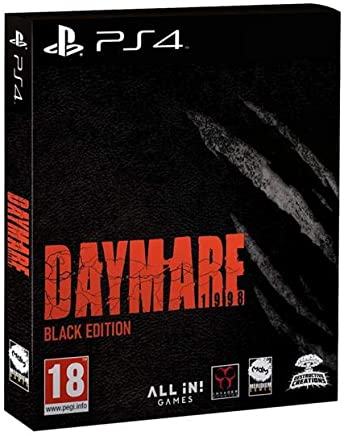 Daymare 1988 Black Edition Ps4 - Playstation 4