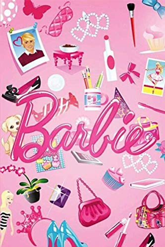Barbie: Notebook For Kids, Cute Gift Idea, (100 Page 6x9) Journal Notebook, Perfect For Drawing, Writing, Goals Ideas, To Do Lists, Develop Creative Writing Skills, Gift Idea For Kids