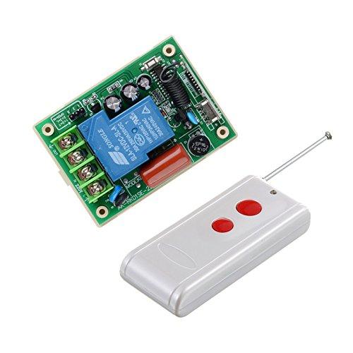 lejin mando a distancia 220VAC 30A 3000W inalámbrico Receptor de fernsteuerungs de interruptor sistema de 315/433Luz/lámpara LED de máquina eléctrica un ajuste de bomba de agua
