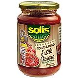 SOLIS Tomate Frito Estilo Casero Frasco Cristal - Tomate sin gluten - 350 g