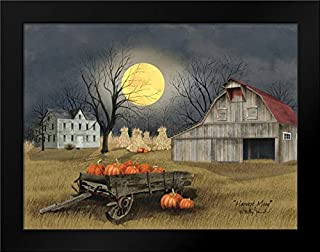 Harvest Moon 24x19 Framed Art Print by Jacobs, Billy