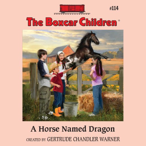 A Horse Named Dragon audiobook cover art