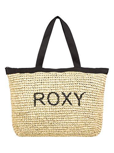 Roxy - Bolsa de Paja con Asas - Mujer - ONE SIZE - Negro