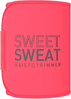 Sweet Sweat Waist Trimmer - Premium Waist Trainer Sauna Suit Belt for Men & Women - Small