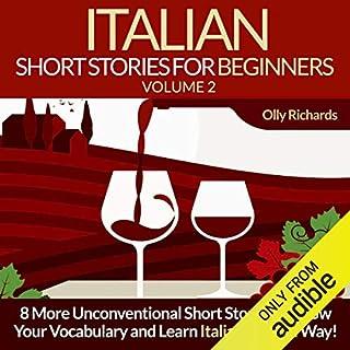 Italian Short Stories for Beginners, Volume 2 [Italian Edition] audiobook cover art