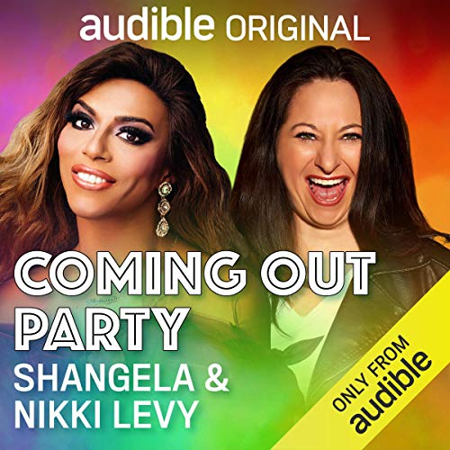 Coming Out Party audiobook cover art